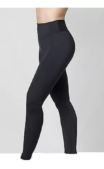 Calza Importada Termica Frizada Mujer Tiro Alto (38-44)