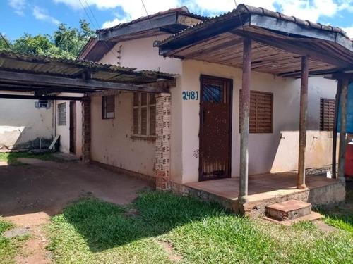 Casa Em Terreno 15 X 60  Com Poço Artesiano - Bairro Camaquã - Ca1221
