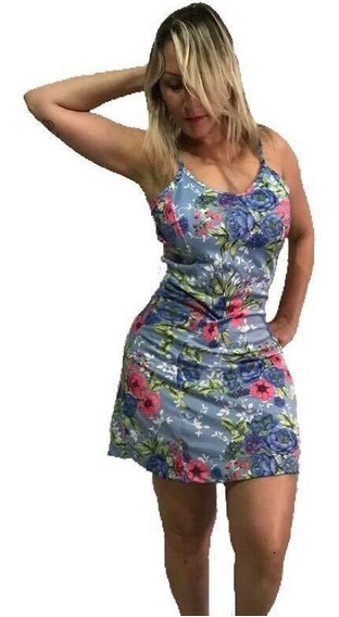 Vestido Midi Feminino Crepe Listrado Canelado Várias Cores