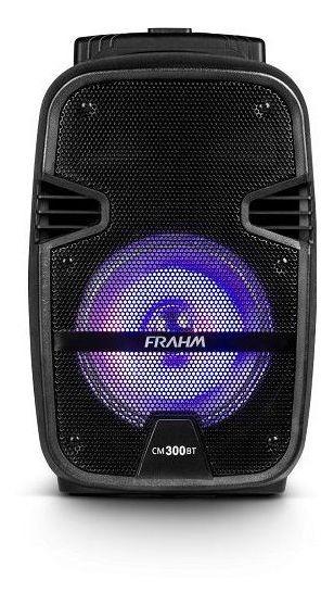 Caixa Som Amplificada Portátil Cm 300 Bt Usb Fm 300w - Frahm