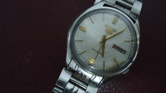 Relógio Seiko 5 Automátic Water Resistant P/ Uso Ou Coleção