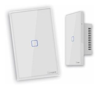 Interruptor Tomada Sonoff Touch Wi-fi Compatível Alexa Nest