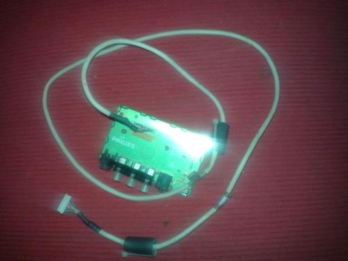 Placa De Conector De Av Da Tv Plilipis 42pf7320 / 78