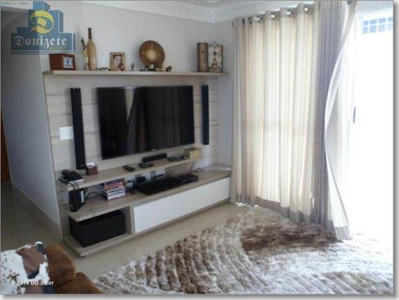 Cobertura Com 3 Dormitórios À Venda, 240 M² Por R$ 1.300.000,00 - Baeta Neves - São Bernardo Do Campo/sp - Co0280