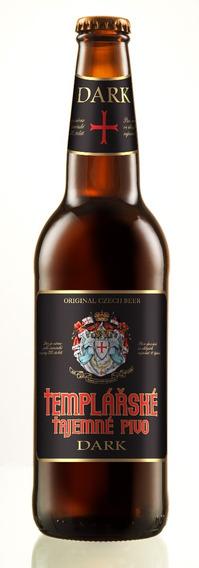 Cerveza Templarske Dark Republica Checa 500ml 20 Bot* (f)