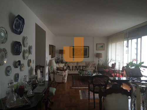 Apartamento Para Venda No Bairro Higienópolis Em São Paulo - Cod: Ja5242 - Ja5242