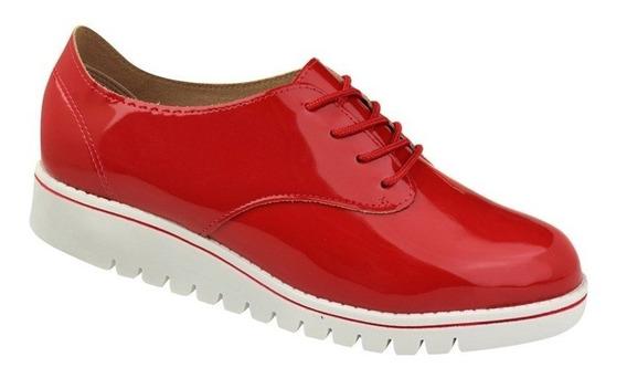 Sapato Oxford Beira Rio Verniz Feminino