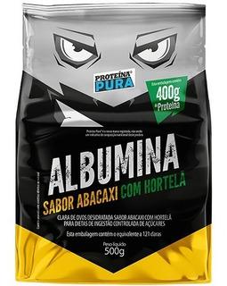 Albumina Pura 500g - Proteína Pura - Todos Os Sabores