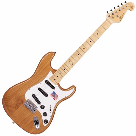 Guitarra Sx Vintage American Alder Natural Sst Alder Na