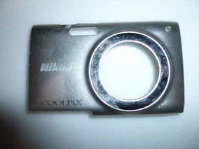 Carcaça Da Frente Camera Nikon Cooplix S2500