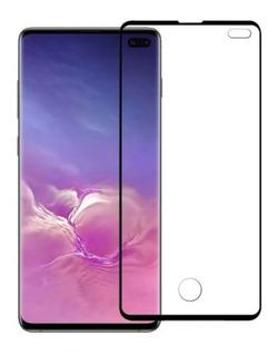 Película De Vidro C/ Borda Samsung Galaxy S10e S10 S10+ Plus