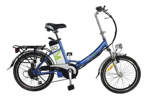 Bicicleta Eléctrica Plegable  -id Ba - Id Ride Daily -e Bike