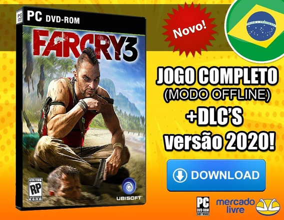 Far Cry 3 + Dlcs - Pc - Português-br Digital