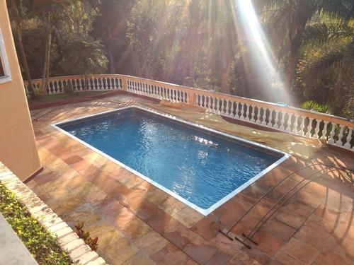 Imagem 1 de 18 de Chácara Completa Em Condomínio Fechado - Ch00014 - 68296174