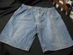 Shorts Bermudas De Mesclilla Fila Talla W38 Americana