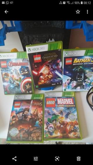 5 Jogos X Box 360