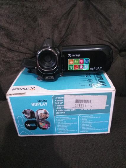 Filmadora Hd Play Mirage (funciona Como Webcam)