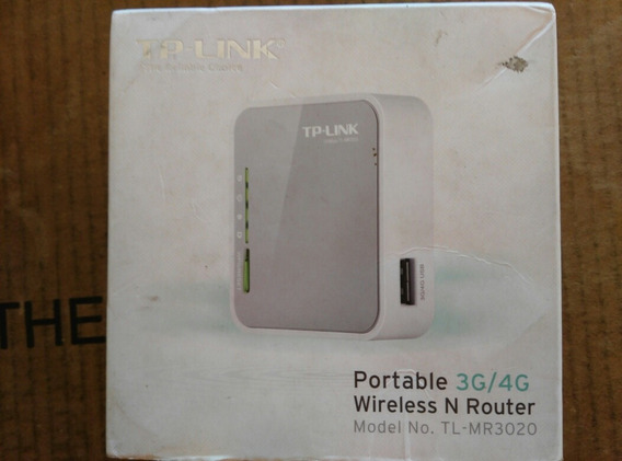 Wireless N Router Bam Portable 3g 4g Tp-link Portatil