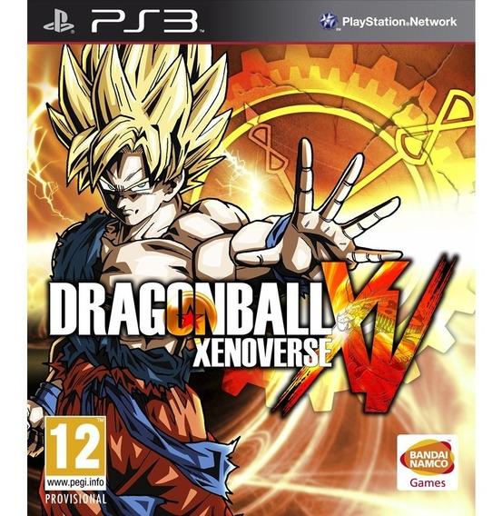 Dragon Ball Xenoverse Ps3 Playstation 3 Portugues Brasil
