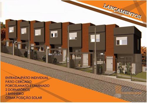 Sobrado Com 2 Dormitórios À Venda, 54 M² Por R$ 188.000,00 - Esplanada - Caxias Do Sul/rs - So0244