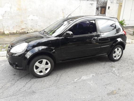 Ford Ka 1.0 Flex 3p 70hp Ar-dh-al-couro-rodas-bx Km-novo!