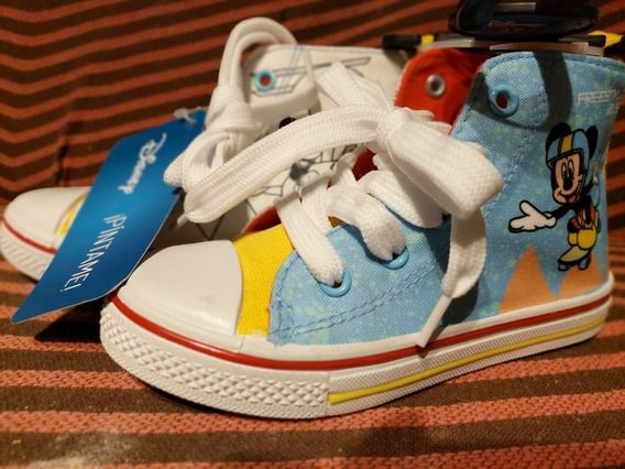 Zapatillas Botas Nene Disney Mickey Las Podes Pintar T:27