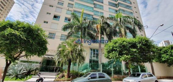Apartamento Para Alugar, 234 M² Por R$ 5.700,00/mês - Gleba Palhano - Londrina/pr - Ap0813
