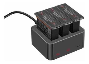 Carregador De Baterias Pra Dji Osmo Action