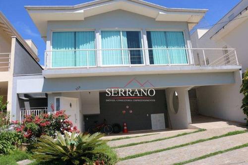 Casa Com 4 Dormitórios À Venda, 310 M² Por R$ 1.500.000,00 - Terras De São Francisco - Vinhedo/sp - Ca0515