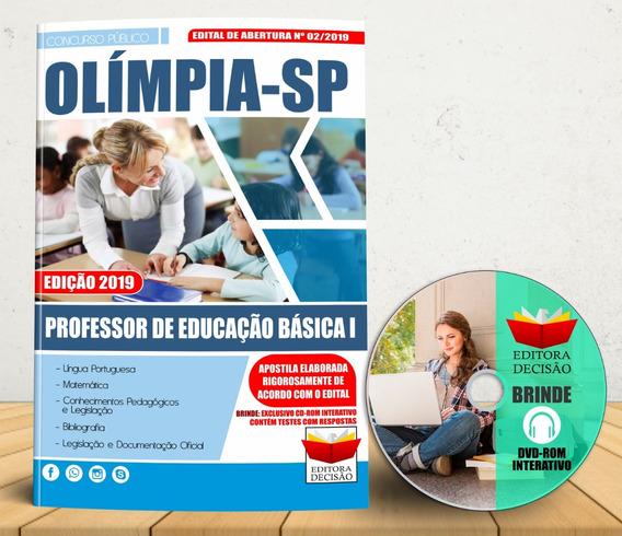 Apostila Olímpia Sp Professor De Educação Básica I Concurso