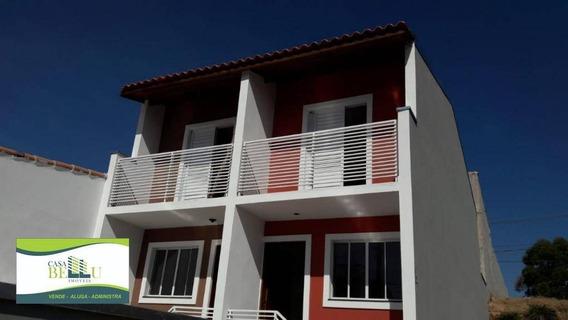 Casa Com 2 Dormitórios À Venda, 64 M² Por R$ 215.000 - Residencial Santo Antônio - Franco Da Rocha/sp - Ca0429