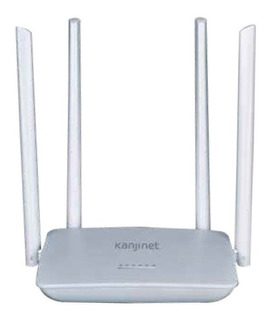 Router Kanji 4 Antenas Kjn-rout4a01 - Aj Hogar