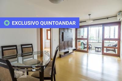 Apartamento No 6º Andar Mobiliado Com 2 Dormitórios E 1 Garagem - Id: 892869886 - 169886