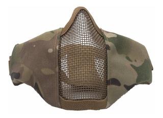 Mascara Malla Metalica Mask Militar Gotcha Paintball Airsoft