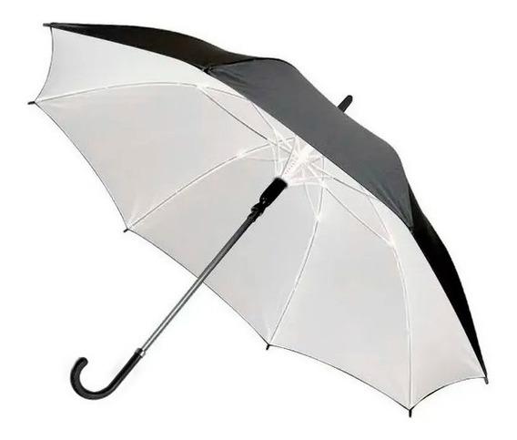 Paraguas Enterizo Liso M/simil Cuero