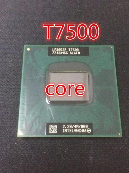 Processador Core 2 Duo T7500 2.20 Ghz/4m/sq 478 Frete Gratis