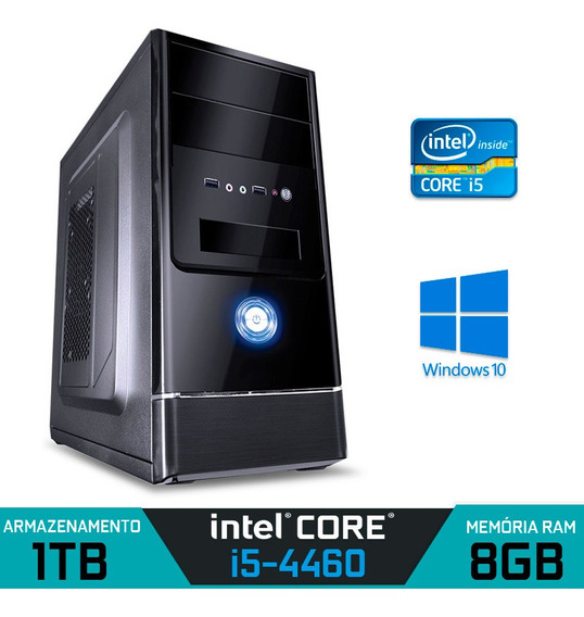 Computador Alfatec Intel Core I5-4460 Ram 8gb Hd 1tb Win 10
