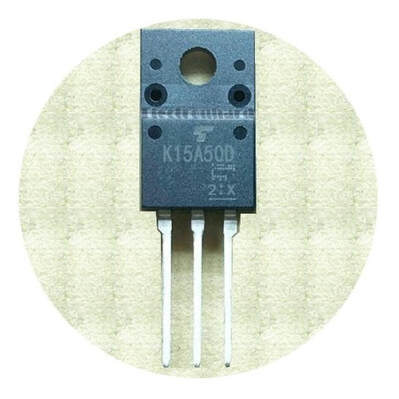 Tk15a50d K15a50d Transistor Mosfet Canal N 500v 15a 50w