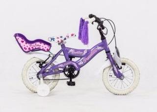 Bicicleta De Chicas Rodado 12 Cathy Aluminio