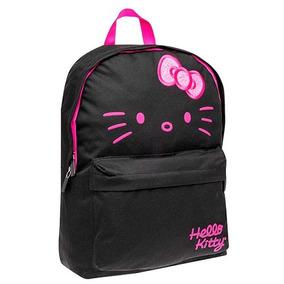 Mochila Juvenil Hello Kitty Ruz 145850 Negro Niña A88166 T3
