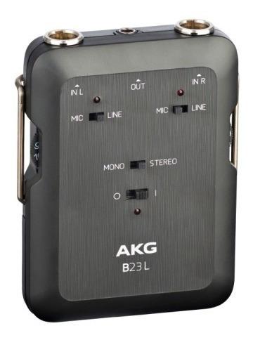 Misturador De Audio Akg B23 L