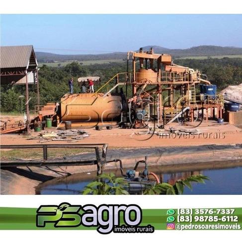 Imagem 1 de 4 de ( Oportunidade ) Mineradora Equipada A Venda,  Por R$ 150.000.000 - Tocantins/to - Ar0036