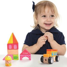 Brinquedos Para Meninas Blocos De Montar Escolinha Estrela