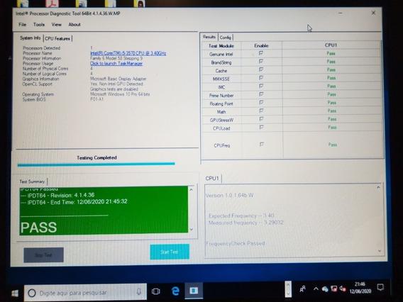 Proc Intel Core I5-3570 3.40ghz 3ªg Lga 1155 + Pasta Térmic