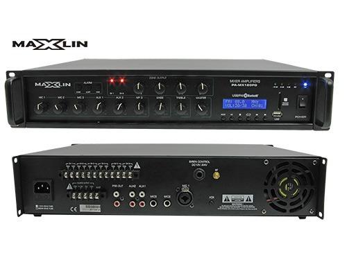 Amplificador Ambiental Maxlin De 6 Zonas 350w