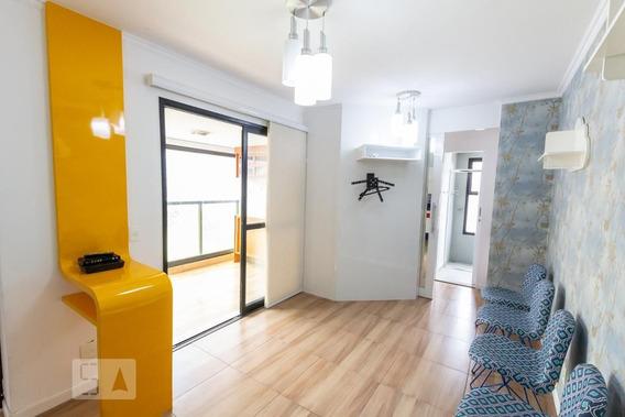Apartamento No 7º Andar Mobiliado Com 1 Dormitório E 1 Garagem - Id: 892948212 - 248212