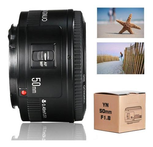 Lente Fixa Ef 50mm F/ 1.8 Yongnuo Para Canon