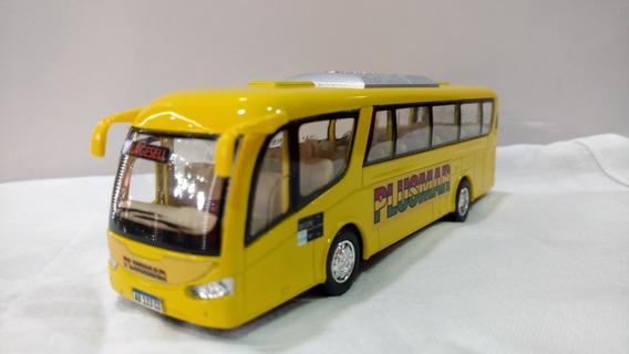 Micro Bus Colectivo Plusmar 19cm Villa Gesell Metalico