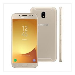 Smartphone Samsung Galaxy J7 Pro Dourado 64gb, Câmera 32mp,