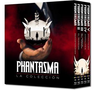 Blu-ray Phantasm / Phantasma La Coleccion / Incluye 5 Films
